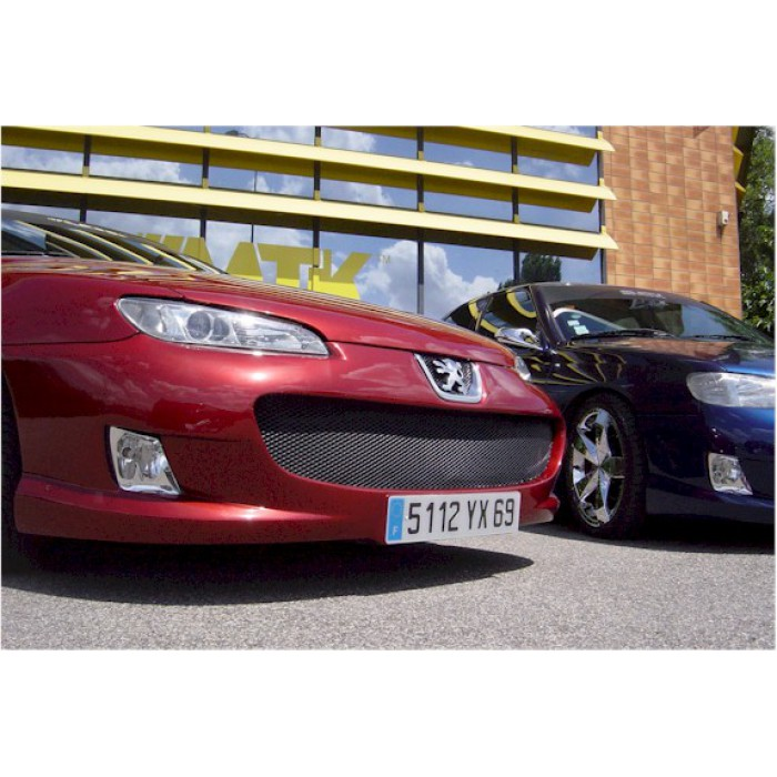 Pare choc tuning avant peugeot 406 coup mtk tuning - Pare choc 406 coupe tuning ...