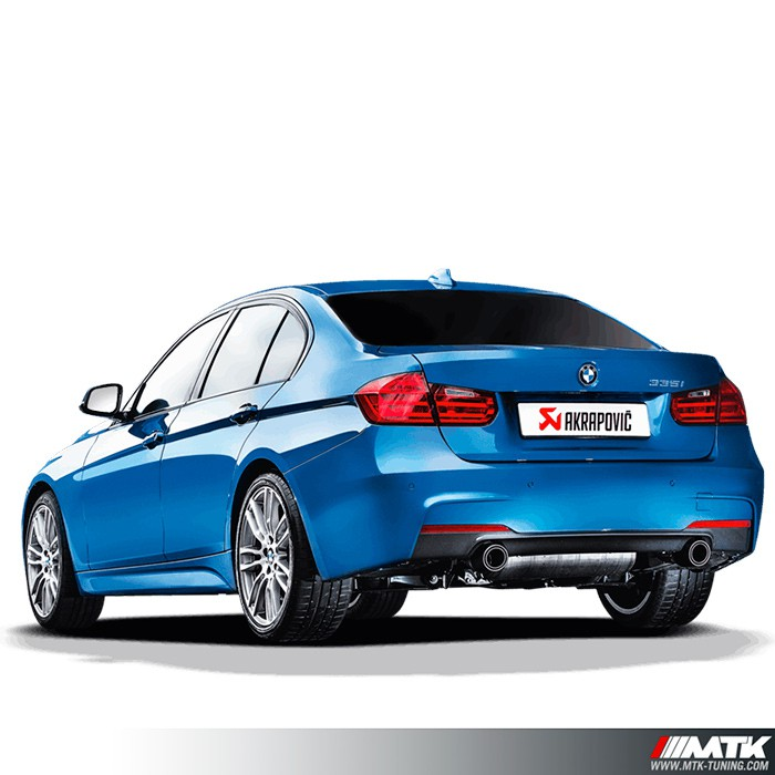 ligne chappement akrapovic evolution line bmw 335i f30 f31. Black Bedroom Furniture Sets. Home Design Ideas