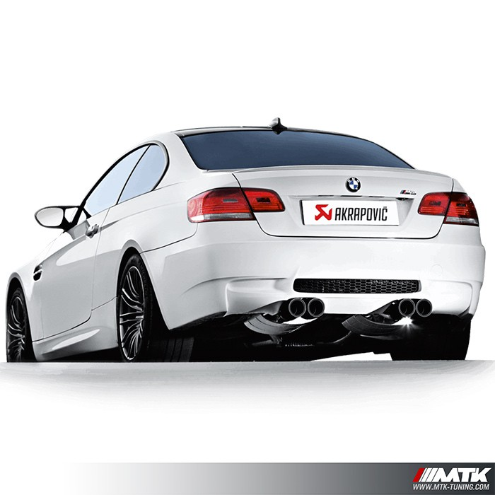 ligne chappement akrapovic evolution line bmw m3 e92 e93. Black Bedroom Furniture Sets. Home Design Ideas