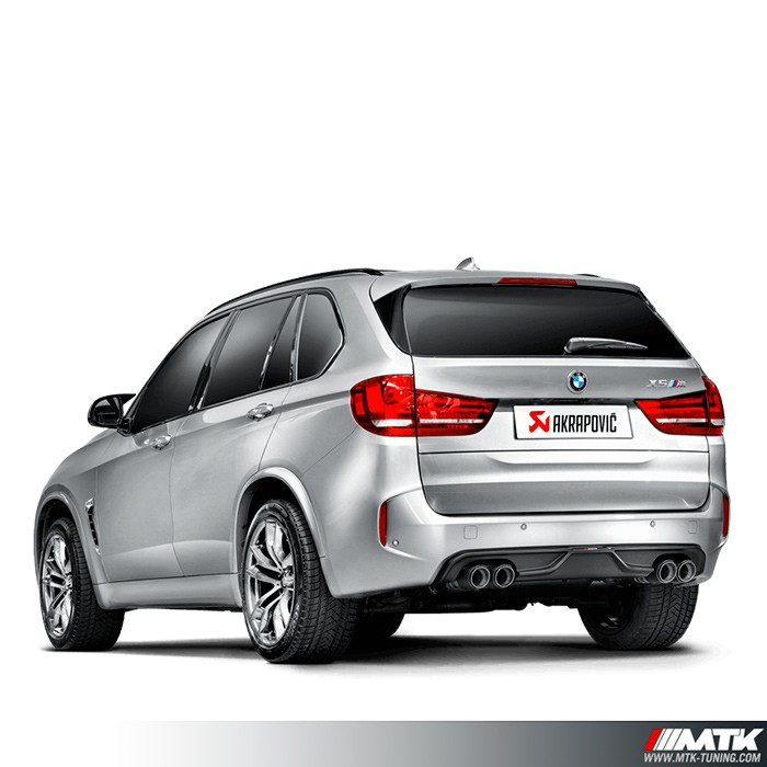 ligne chappement akrapovic evolution line bmw x5m e85. Black Bedroom Furniture Sets. Home Design Ideas
