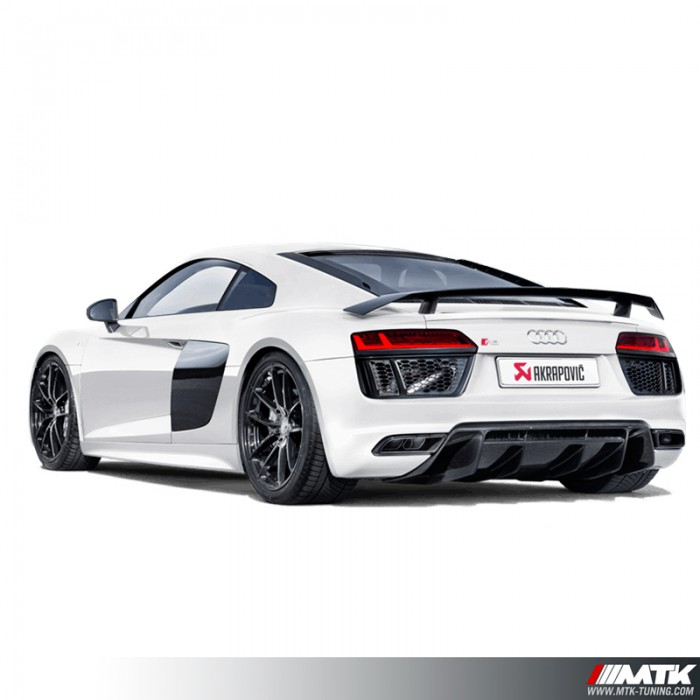 Turbo Kit Audi R8 V10: Silencieux Titane Akrapovic Audi R8 MK2 V10 V10 Plus