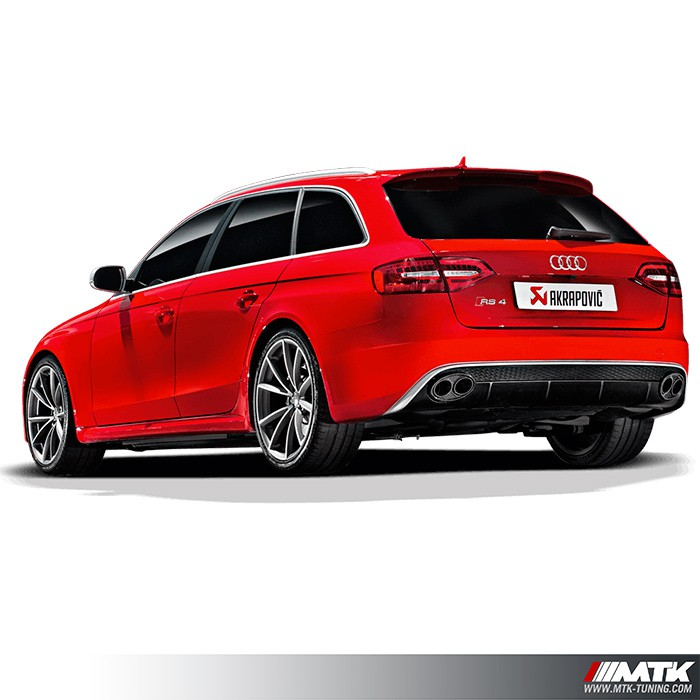ligne chappement akrapovic evolution line audi rs4 b8. Black Bedroom Furniture Sets. Home Design Ideas