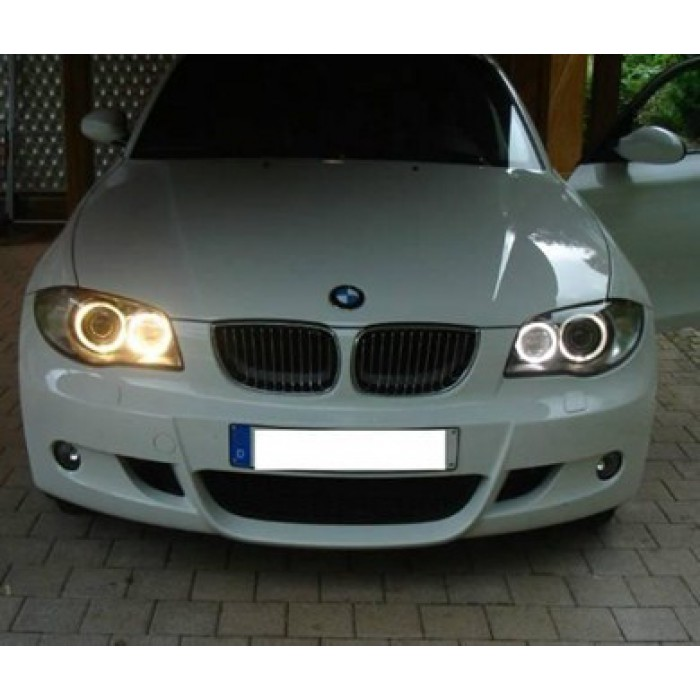 ampoules h8 leds pour angel eyes bmw blanc pur. Black Bedroom Furniture Sets. Home Design Ideas
