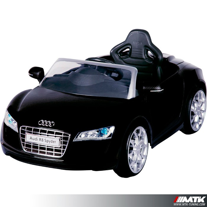 voiture lectrique pour enfant audi r8 licence officielle. Black Bedroom Furniture Sets. Home Design Ideas