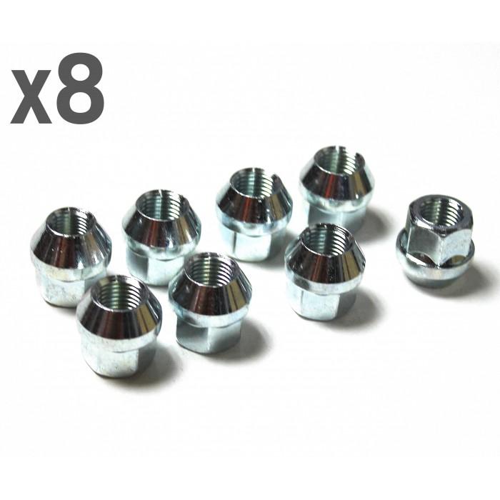 pack 8x boulons ecrous de roue coniques 12x150. Black Bedroom Furniture Sets. Home Design Ideas