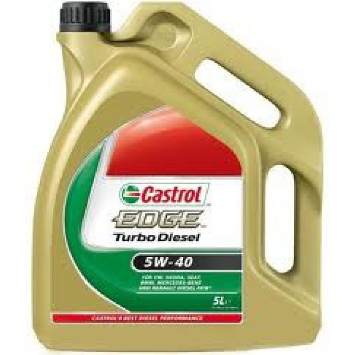 huile moteur castrol edge turbo diesel 5w40 5 litres. Black Bedroom Furniture Sets. Home Design Ideas