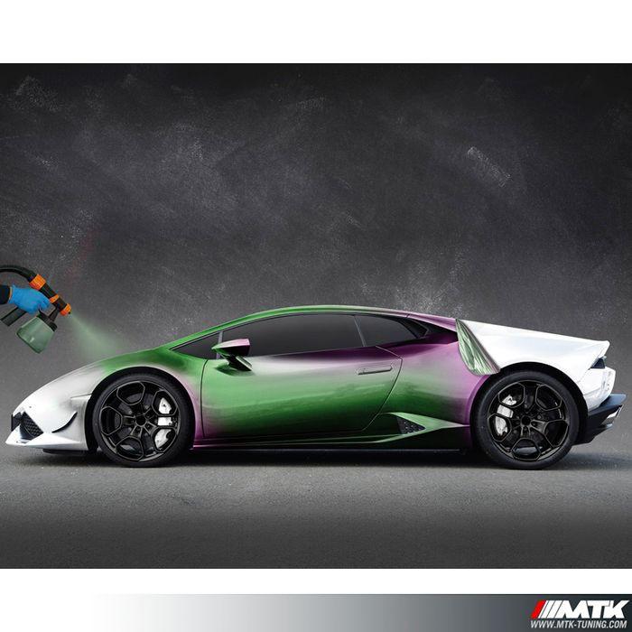 Pack foliatec carbody peinture cameleon avec station de for Plasti dip interieur voiture
