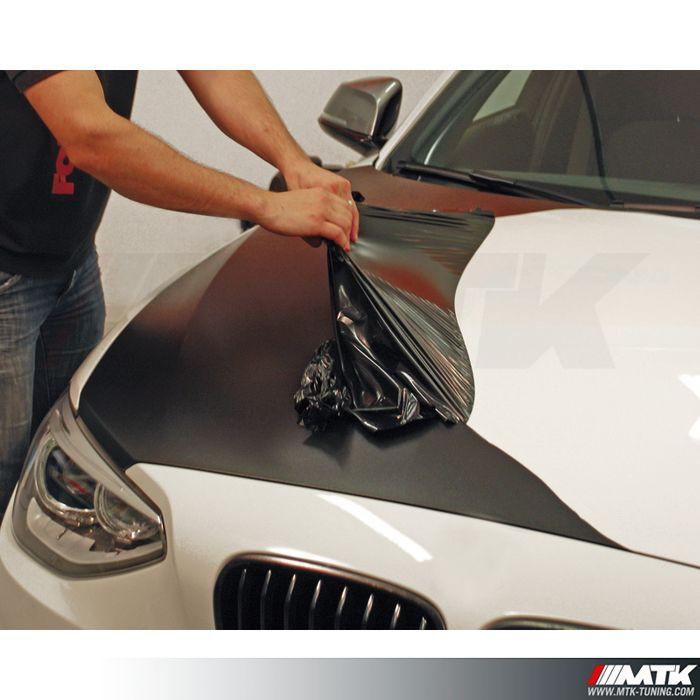 Pack foliatec carbody noir mat avec station de peinture for Plasti dip interieur voiture