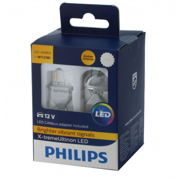 Ultinon Wy21w Treme Philips Ampoules Leds Orange X PXkO8n0w