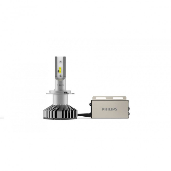 kit 2 ampoules led h7 philips x treme ultinon. Black Bedroom Furniture Sets. Home Design Ideas