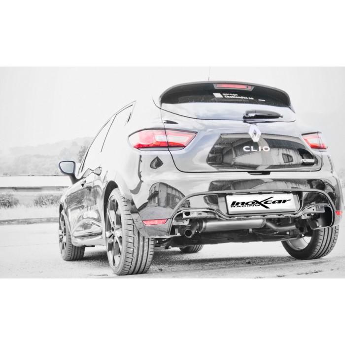 Catback Silencieux Echappement Sport Inoxcar Pour Renault Clio 4