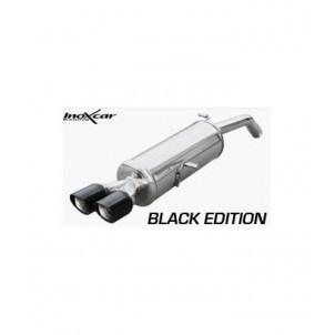 silencieux inoxcar black edition 2x80mm citroen ds3 1 6 thp 150 155 cv diametre 60mm. Black Bedroom Furniture Sets. Home Design Ideas