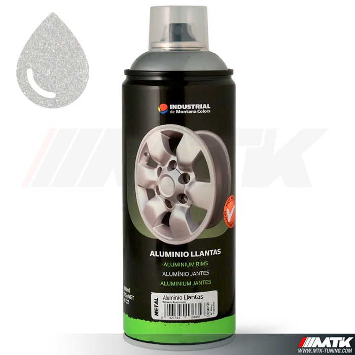 aerosol de peinture montana sp ciale jante aluminium 400ml. Black Bedroom Furniture Sets. Home Design Ideas
