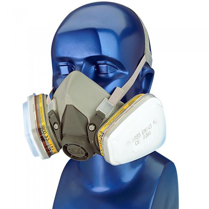 masque de protection 3m pour peintre 3m 6000. Black Bedroom Furniture Sets. Home Design Ideas