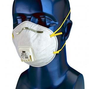 masque de protection 3m pour peinture 3m 8812. Black Bedroom Furniture Sets. Home Design Ideas