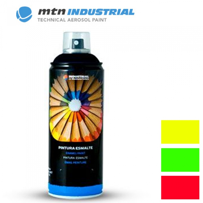 Peinture fluorescente montana 400ml for Peinture fluorescente exterieur