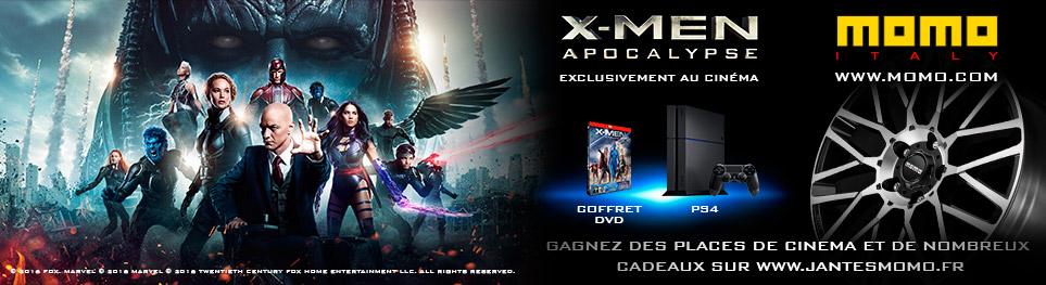 jeu concours x-men apocalypse MOMO