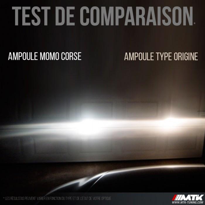 Ampoule H7 Corsa White Momo Corse Phares Avant