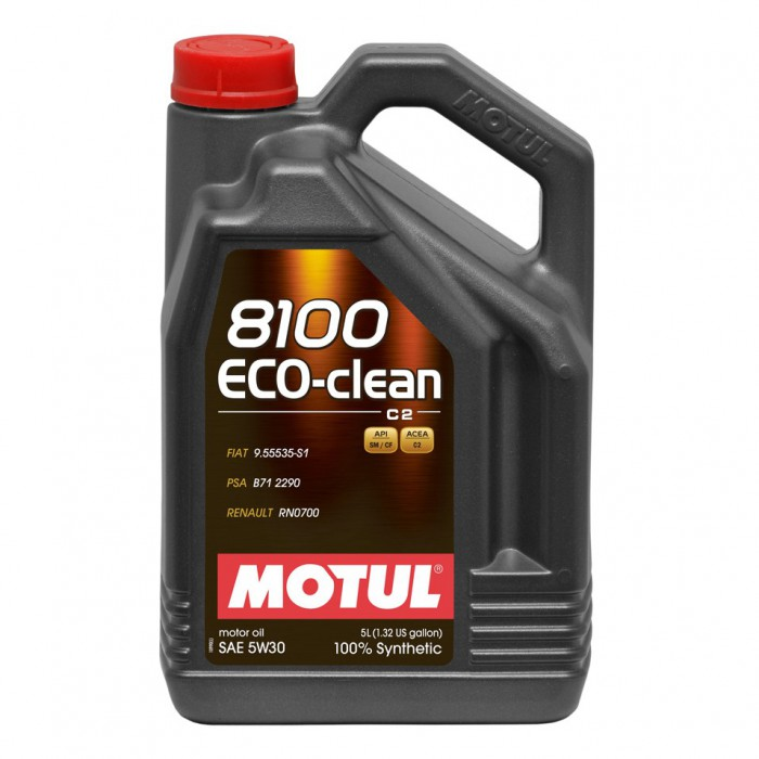 huile moteur motul 8100 eco clean c2 5w30 5 litres. Black Bedroom Furniture Sets. Home Design Ideas