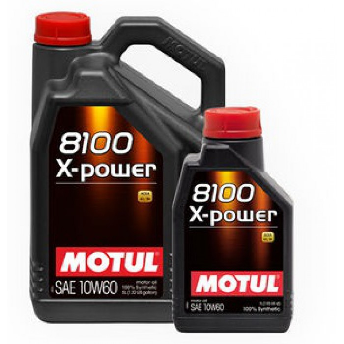 huile moteur motul 8100 x power 10w60 1 litre 5litres. Black Bedroom Furniture Sets. Home Design Ideas
