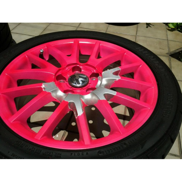 Plastidip plasti dip blaze rose fluo for Plasti dip interieur voiture