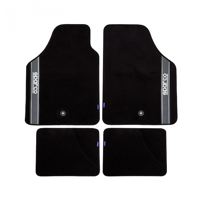 tapis voiture tapis de sol auto sparco. Black Bedroom Furniture Sets. Home Design Ideas