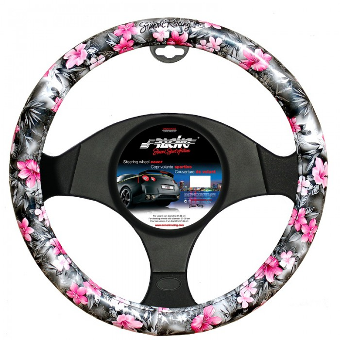 Couvre Volant Quot Flowers Quot Mtk Tuning