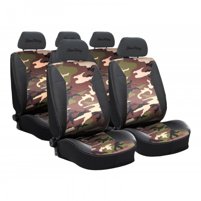 housse de si ge camouflage army universelle pour siege auto. Black Bedroom Furniture Sets. Home Design Ideas