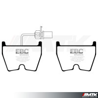 EBC Redstuff Plaquettes De Frein Essieu Avant dp33048c
