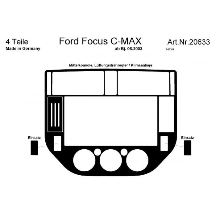 décoration de tableau de bord ford focus c-max