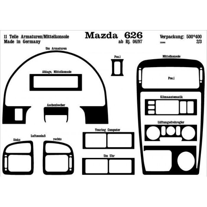 d u00e9coration de tableau de bord mazda 626