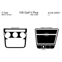 d coration de tableau de bord volkswagen golf v plus. Black Bedroom Furniture Sets. Home Design Ideas