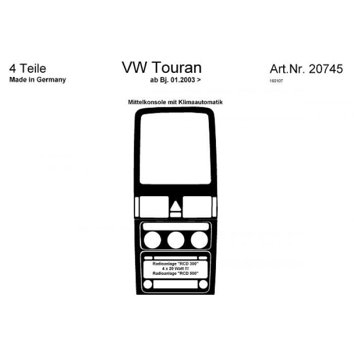 d coration de tableau de bord volkswagen touran. Black Bedroom Furniture Sets. Home Design Ideas