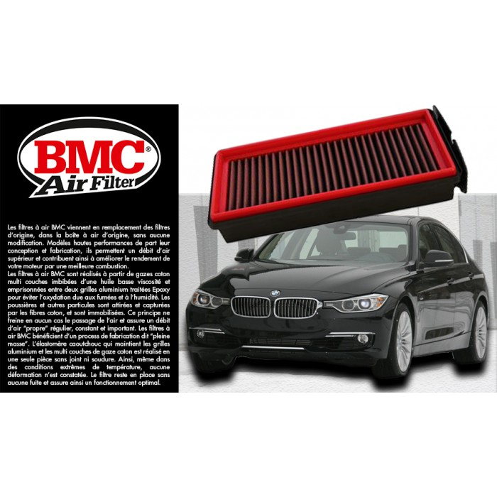 filtre air sport bmc 821 04 pour bmw serie f diesel. Black Bedroom Furniture Sets. Home Design Ideas