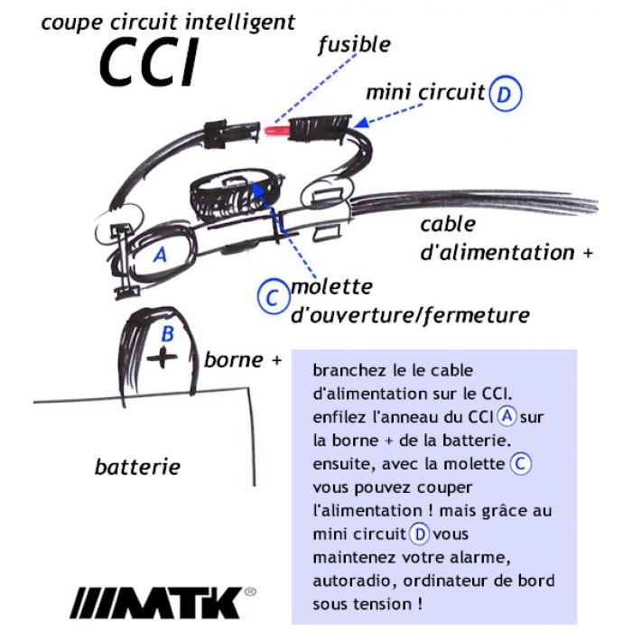 Coupe circuit antivol - Coupe circuit batterie 12v ...