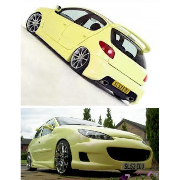 kit carrosserie 206 vision 5 portes mtk tuning. Black Bedroom Furniture Sets. Home Design Ideas
