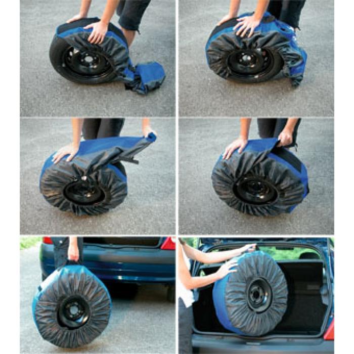 Housse pour roue compl te et pneus michelin hiver for Housse pour roue