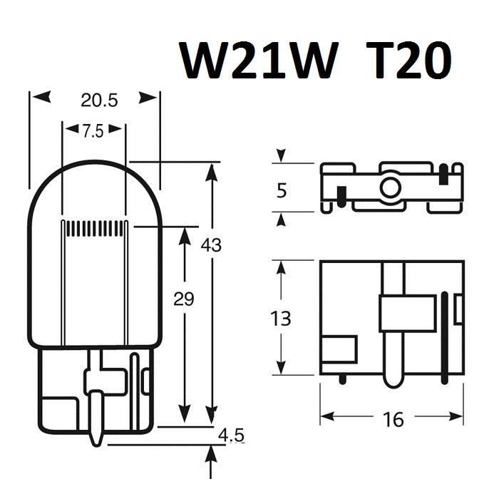 Ampoule T20